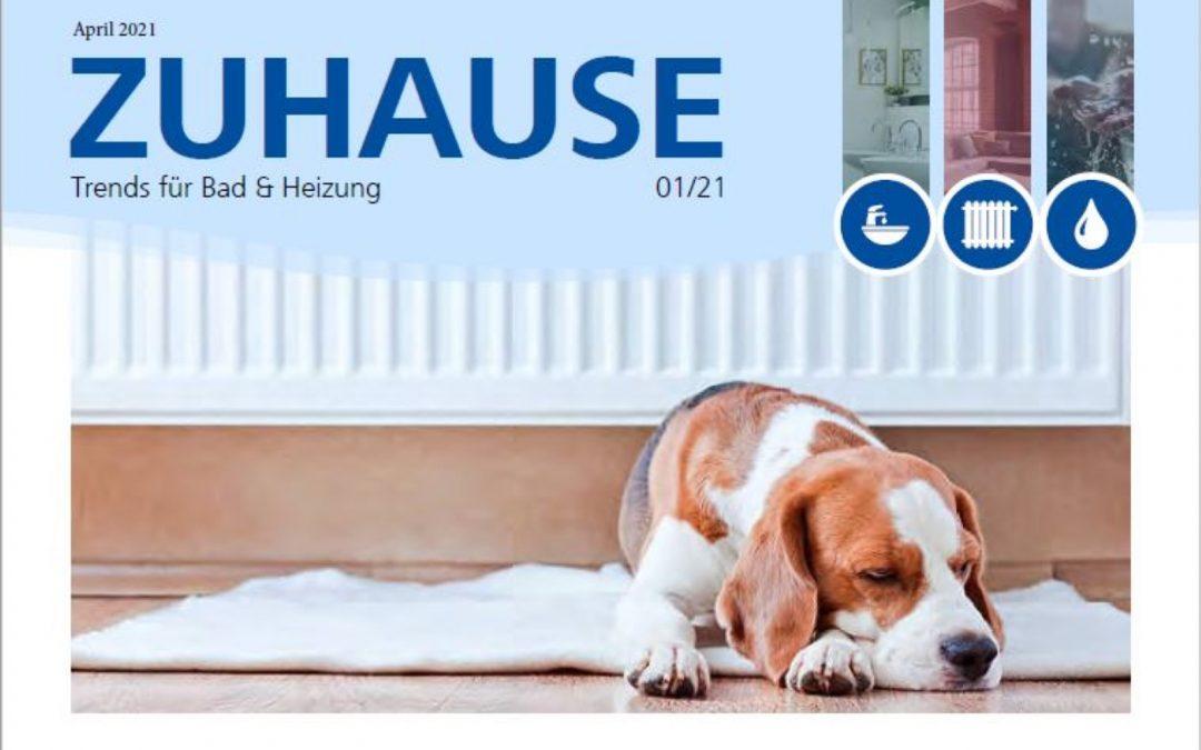 """Neue Ausgabe """"Zuhause"""" erschienen"""